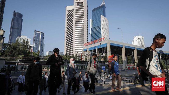 Sejumlah ruas jalan di Jakarta pasca cuti bersama Idul Fitri 1440 Hijriah masih lengang. Senin (10/9) ini adalah hari pertama para pegawai kembali masuk kerja.