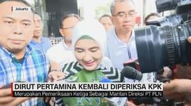 VIDEO: Lagi, Dirut Pertamina Diperiksa KPK Soal PLTU Riau-1