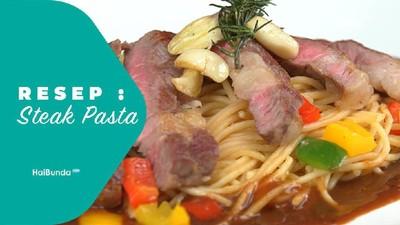 Resep Steak Pasta