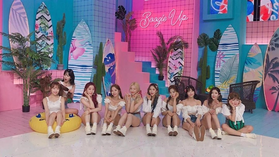 Lirik Lagu Boogie Up - WJSN