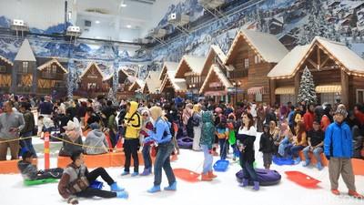 Ikutan HaiBunda Happy Hour & Dapatkan Tiket Trans Snow World