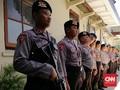 Sidang Vonis Dhani Dijaga 349 Polisi Bersenjata Gas Air Mata