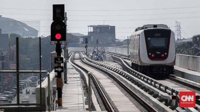 Kemenhub menyatakan operasi komersial LRT Jabodebek tahap pertama akan menunggu penyelesaian konstruksi di jalur Dukuh Atas rampung pada 2021.