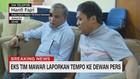 VIDEO: Eks Tim Mawar Laporkan Tempo ke Dewan Pers