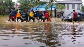 Banjir Samarinda, Ribuan Warga Mulai Mengungsi