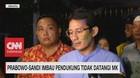 VIDEO: Prabowo-Sandi Imbau Pendukung Tidak Datangi MK
