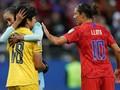 FOTO: Manis-Getir Kemenangan 13-0 Timnas AS Atas Thailand