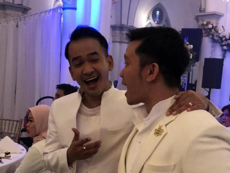Tak lupa sang kakak, Ruben Onsu, juga memberikan selamat dan doa terbaiknya untuk sang adik.