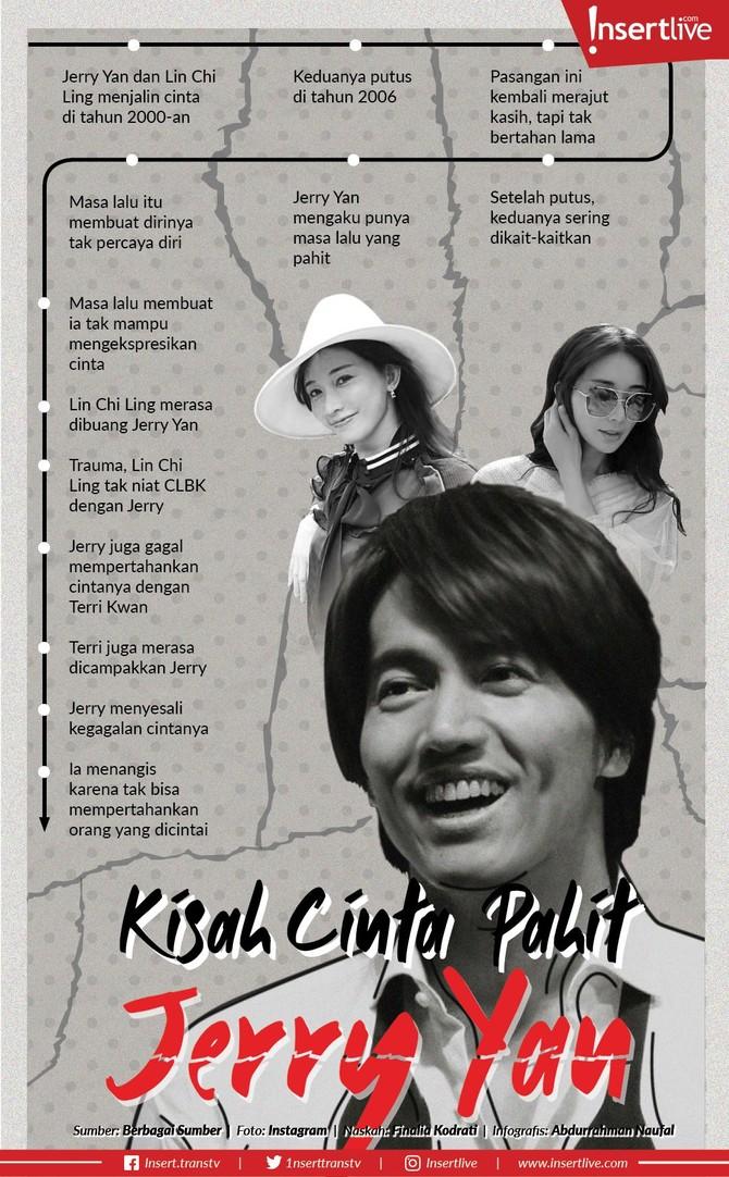 Infografis: Kisah Cinta Pahit Jerry Yan