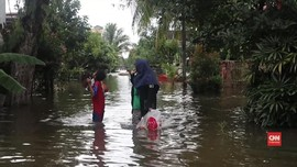 VIDEO: Banjir Samarinda Mulai Surut, Warga Terserang Penyakit
