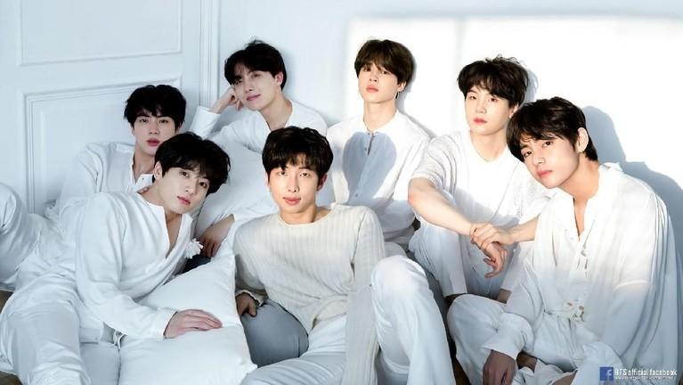 BTS. Diikuti lebih dari 20 juta di Instagram, grup boyband terkenal asal Korea Selatan BTS memiliki sekitar 47% followers palsu.