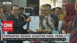 VIDEO: KPU Serahkan Jawaban Gugatan Kuasa Hukum Prabowo-Sandi