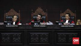 MK Tolak Gugatan Sengketa Pilpres Prabowo