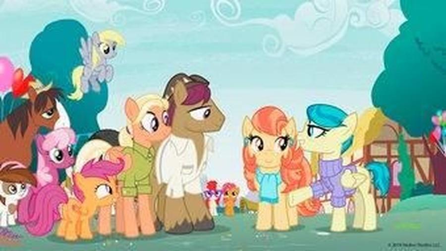 Pasangan Sesama Jenis Diperkenalkan Pada Film Anak 'My Little Pony'