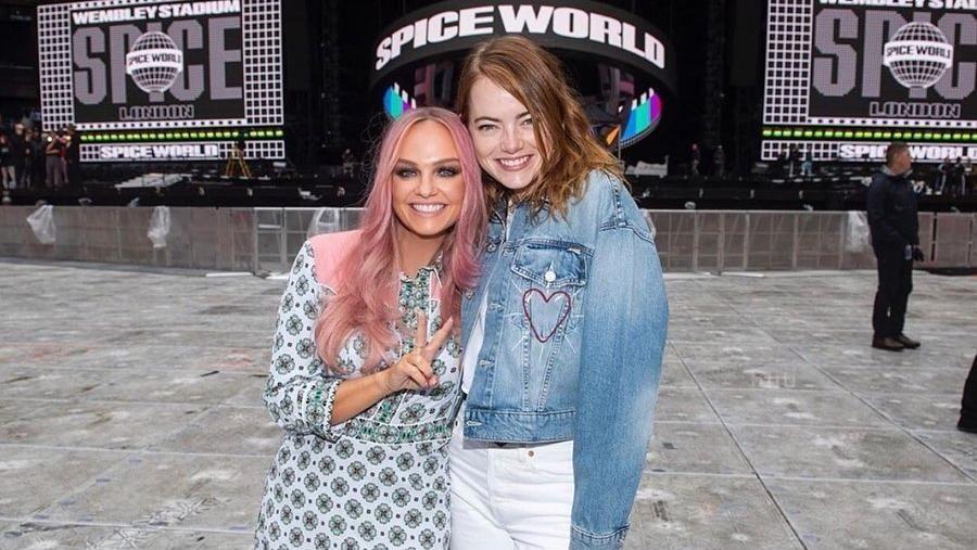 Mimpi Jadi Kenyataan, Emma Stone Foto Bareng Baby Spice