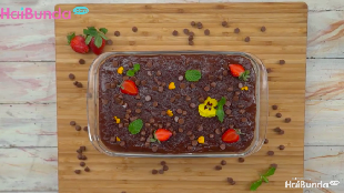 Resep Chocolate Puding Layer, Lembut Manis Bertabur Choco Chips