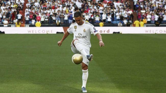 Pemain anyar Real Madrid, Eden Hazard, tidak yakin bakal mendapat kesempatan menjadi eksekutor tendangan 12 pas dari Sergio Ramos.