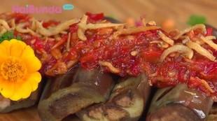Resep Terong Bakar Sambal Teri Balado, Cocok untuk Makan Siang