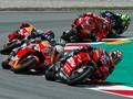 Jatuh di MotoGP Catalunya, Dovizioso Tak Lelah Kejar Marquez