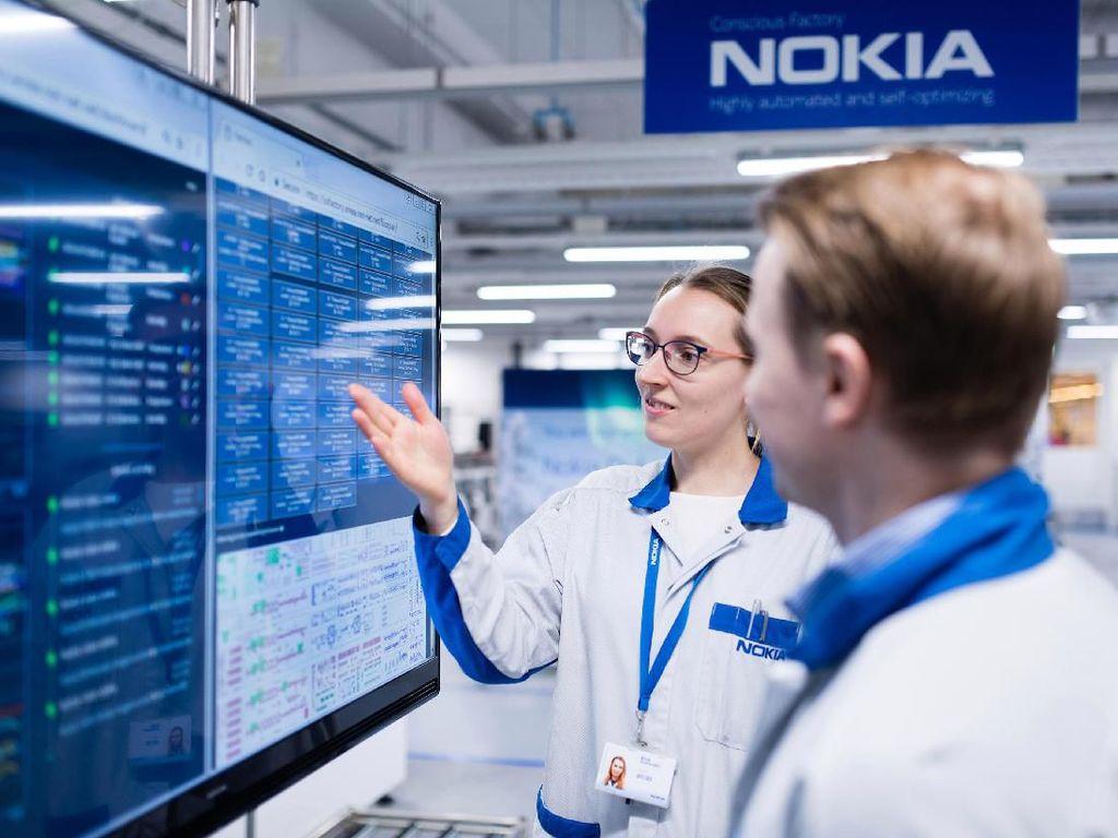 Mengintip Pabrik Masa Depan Milik Nokia