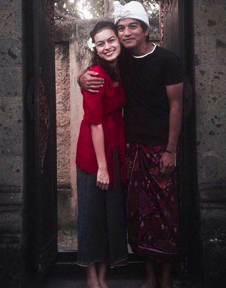 Indra Lesmana dan Eva Celia