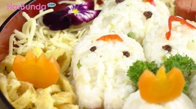 Resep Nasi Kepal Isi Sosis Tabur Keju, Bekal Simpel untuk Si Kecil