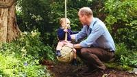 <p>Ketika mengunjungi Chelsea Garden, taman yang dirancang oleh Kate Middleton dan tim. Kedekatan Pangeran William dan si bungsu tertangkap oleh kamera. (Foto: Instagram @kensingtonroyal)</p>