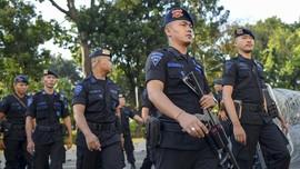 Jelang Pilkada, Ratusan Personel Brimob Diterjunkan ke Papua