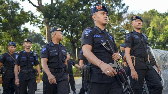 Sebanyak 600 personel Brimob tambahan diterjunkan untuk mengamankan Pilkada di 11 Kabupaten di Provinsi Papua.