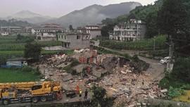 China Bantah Eksplorasi Gas Penyebab Gempa Bumi di Sichuan