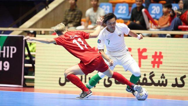 Timnas futsal Indonesia akan bersua Thailand pada final Piala AFF Futsal 2019 di Phu Tho Indoor Stadium, Ho Chi Min City, Vietnam, Minggu (27/10).