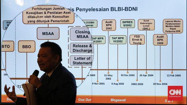 Pemerintah membentuk Satgas Aset BLBI usai KPK menerbitkan SP3 kasus yang menjerat taipan Sjamsul Nursalim dan istrinya.