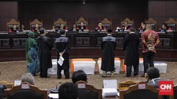 MK Sahkan Bukti Tambahan dari Prabowo di Sengketa Pilpres
