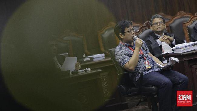 Kuasa hukum KPU Ali Nurdin menilai kesaksian saksi kubu Prabowo, Hermansyah justru menguntungkan pihaknya. Hermansyah, kata Ali, menyebut, Situng KPU benar.