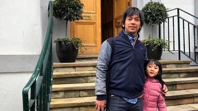 Dukungan Rian D'Masiv untuk Bakat Menyanyi Putrinya