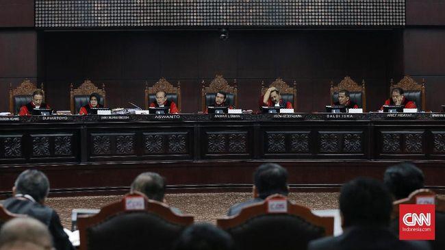 Majelis Hakim MK Mentahkan Gugatan Prabowo soal Situng