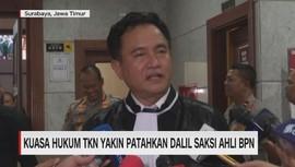 VIDEO: Kuasa Hukum TKN Yakin Patahkan Dalil Saksi Ahli BPN