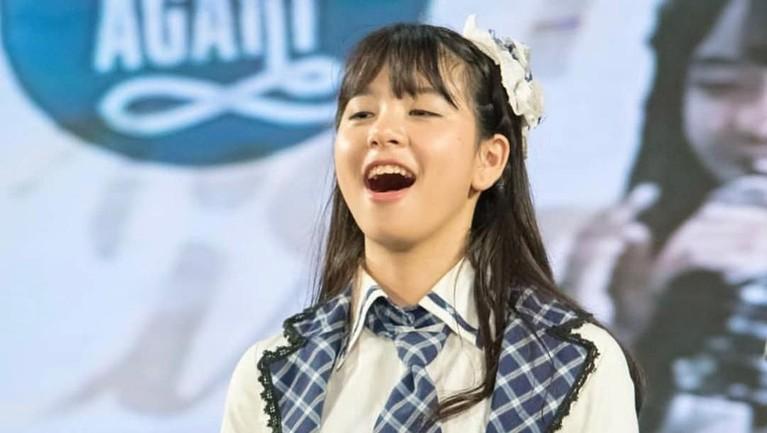 Zee JKT48 memang memiliki wajah yang cantik dan imut sehingga membuatnya banyak memiliki penggemar.