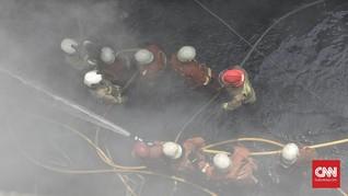Permukiman Padat di Tambora Terbakar, 30 Damkar Dikerahkan
