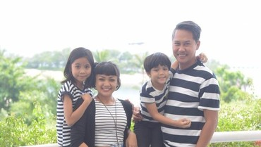 Cerita Nirina Zubir Didampingi Anak Saat Bersepeda Jakarta-Bali
