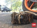 Ojol Ringkus Penebar Ranjau Paku di Gatot Subroto-Cawang