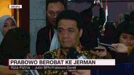 VIDEO: Prabowo Berobat ke Jerman