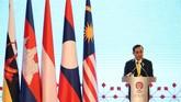 Indonesia yang hadir dalam KTT ASEAN turut membahas soal batas ZEE, Rohingya, serta dampak perang dagang AS-China.