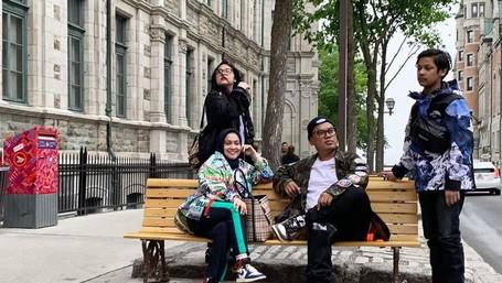 6 Foto Liburan Seru Ala Keluarga Uya Kuya di Kanada