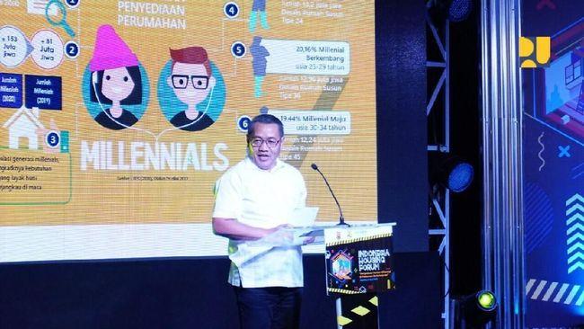 Kementerian PUPR tengah mengupayakan skema agar generasi milenial bisa memiliki rumah sesuai dengan kebutuhan masing-masing.
