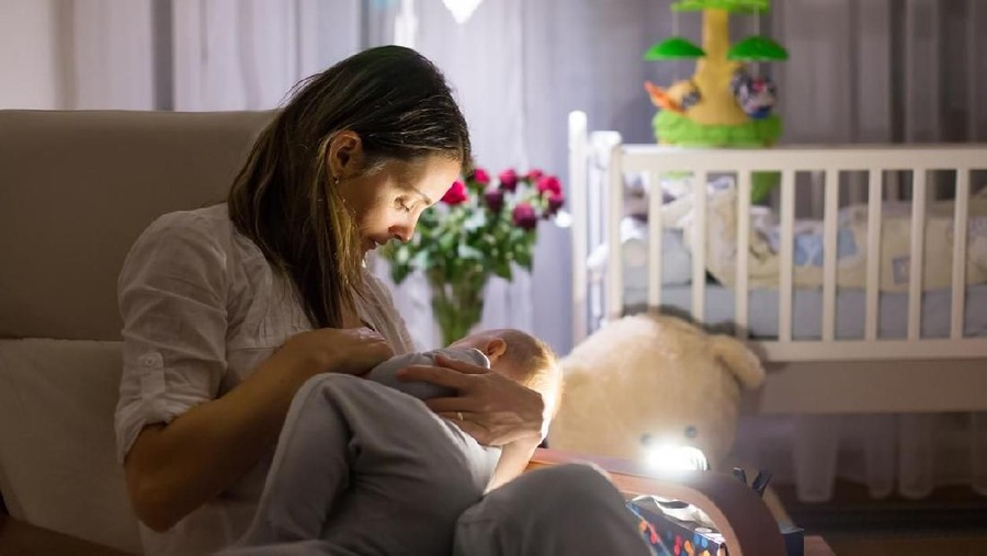 Tips Sukses Menyapih Anak di Malam Hari