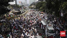 FOTO : Aksi Tahlil 266 Jelang Putusan Sengketa Pilpres di MK