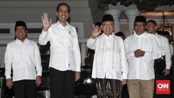 Jokowi: Tak Ada Lagi 01-02, yang Ada Persatuan Indonesia