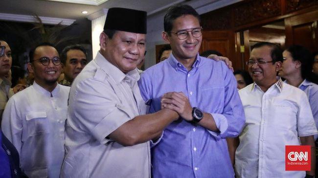 Pasangan calon presiden Prabowo Subianto dan Sandiaga Uno dipastikan tidak akan membawa persoalan sengketa pilpres ke Mahkamah Internasional.