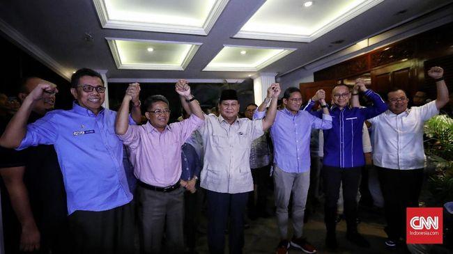 Wakil Ketua Bidang Advokasi Partai Gerindra, Hendarsam Marantoko menyebut sekalipun Gerindra bergabung dengan koalisi Jokowi, itu demi kepentingan bangsa.